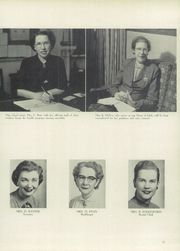 Page 15, 1953 Edition, Washington High School - Anvil Yearbook (East Chicago, IN) online yearbook collection