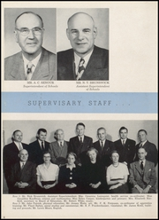Page 10, 1954 Edition, Washington High School - Anvil Yearbook (East Chicago, IN) online yearbook collection