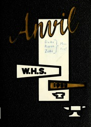 Page 1, 1958 Edition, Washington High School - Anvil Yearbook (East Chicago, IN) online yearbook collection