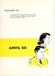 Page 5, 1960 Edition, Washington High School - Anvil Yearbook (East Chicago, IN) online yearbook collection