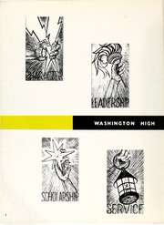 Page 6, 1960 Edition, Washington High School - Anvil Yearbook (East Chicago, IN) online yearbook collection