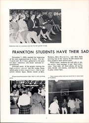 Page 10, 1961 Edition, Frankton High School - Eaglite Yearbook (Frankton, IN) online yearbook collection