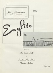 Page 5, 1964 Edition, Frankton High School - Eaglite Yearbook (Frankton, IN) online yearbook collection