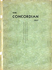 Page 1, 1937 Edition, Concord High School - Concordian Yearbook (Elkhart, IN) online yearbook collection