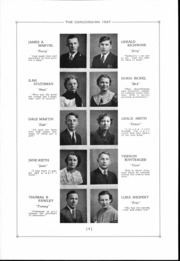 Page 10, 1937 Edition, Concord High School - Concordian Yearbook (Elkhart, IN) online yearbook collection