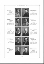Page 11, 1937 Edition, Concord High School - Concordian Yearbook (Elkhart, IN) online yearbook collection