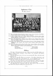 Page 16, 1937 Edition, Concord High School - Concordian Yearbook (Elkhart, IN) online yearbook collection