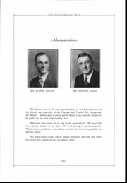 Page 7, 1937 Edition, Concord High School - Concordian Yearbook (Elkhart, IN) online yearbook collection