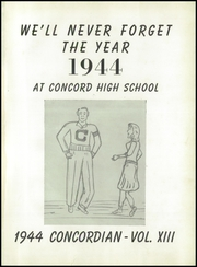 Page 5, 1944 Edition, Concord High School - Concordian Yearbook (Elkhart, IN) online yearbook collection