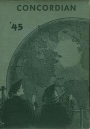 Page 1, 1945 Edition, Concord High School - Concordian Yearbook (Elkhart, IN) online yearbook collection