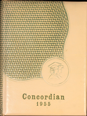 Page 1, 1955 Edition, Concord High School - Concordian Yearbook (Elkhart, IN) online yearbook collection