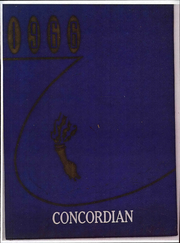 Page 1, 1966 Edition, Concord High School - Concordian Yearbook (Elkhart, IN) online yearbook collection