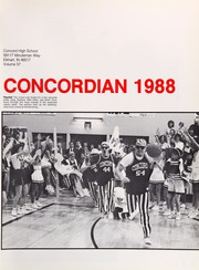 Page 5, 1988 Edition, Concord High School - Concordian Yearbook (Elkhart, IN) online yearbook collection