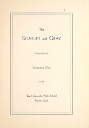 Page 9, 1933 Edition, West Lafayette High School - Scarlet and Gray Yearbook (West Lafayette, IN) online yearbook collection