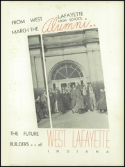 Page 5, 1937 Edition, West Lafayette High School - Scarlet and Gray Yearbook (West Lafayette, IN) online yearbook collection
