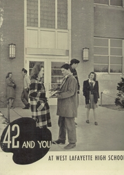 1942 Edition, West Lafayette High School - Scarlet and Gray Yearbook (West Lafayette, IN)