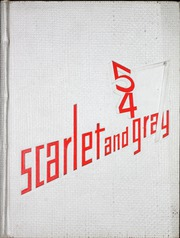 1954 Edition, West Lafayette High School - Scarlet and Gray Yearbook (West Lafayette, IN)