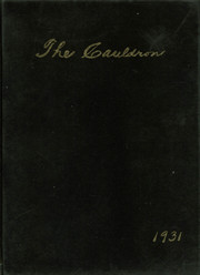 Frankfort High School - Cauldron Yearbook (Frankfort, IN) online yearbook collection, 1931 Edition, Page 1