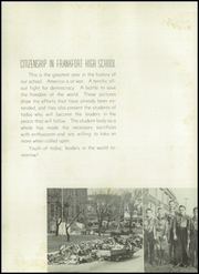 Page 14, 1943 Edition, Frankfort High School - Cauldron Yearbook (Frankfort, IN) online yearbook collection