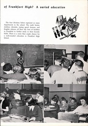 Page 15, 1952 Edition, Frankfort High School - Cauldron Yearbook (Frankfort, IN) online yearbook collection