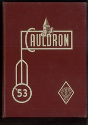 Page 1, 1953 Edition, Frankfort High School - Cauldron Yearbook (Frankfort, IN) online yearbook collection