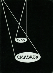 1959 Edition, Frankfort High School - Cauldron Yearbook (Frankfort, IN)