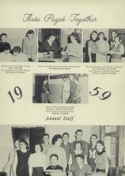 Page 7, 1959 Edition, Markleville High School - Arabian Yearbook (Markleville, IN) online yearbook collection
