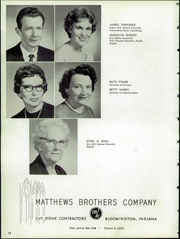 Page 16, 1964 Edition, Ellettsville High School - Llamarada Yearbook (Ellettsville, IN) online yearbook collection