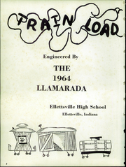 Page 6, 1964 Edition, Ellettsville High School - Llamarada Yearbook (Ellettsville, IN) online yearbook collection