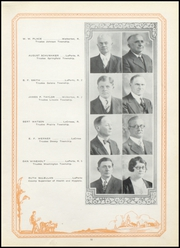 Page 15, 1928 Edition, Lacrosse High School - Tiger Tracks Yearbook (Lacrosse, IN) online yearbook collection