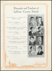 Page 17, 1928 Edition, Lacrosse High School - Tiger Tracks Yearbook (Lacrosse, IN) online yearbook collection
