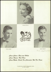 Page 13, 1954 Edition, Lacrosse High School - Tiger Tracks Yearbook (Lacrosse, IN) online yearbook collection
