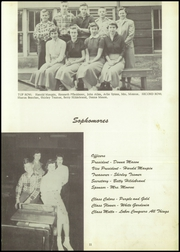 Page 15, 1954 Edition, Lacrosse High School - Tiger Tracks Yearbook (Lacrosse, IN) online yearbook collection