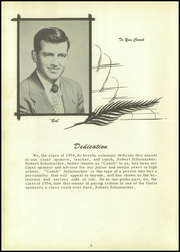 Page 6, 1954 Edition, Lacrosse High School - Tiger Tracks Yearbook (Lacrosse, IN) online yearbook collection