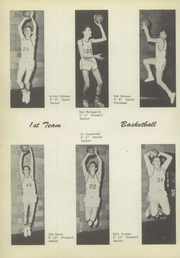 Page 36, 1956 Edition, Lacrosse High School - Tiger Tracks Yearbook (Lacrosse, IN) online yearbook collection