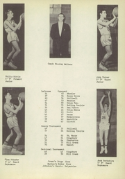 Page 37, 1956 Edition, Lacrosse High School - Tiger Tracks Yearbook (Lacrosse, IN) online yearbook collection