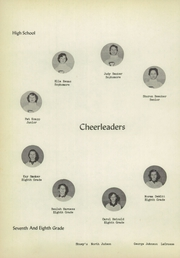 Page 40, 1956 Edition, Lacrosse High School - Tiger Tracks Yearbook (Lacrosse, IN) online yearbook collection