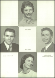Page 14, 1958 Edition, Lacrosse High School - Tiger Tracks Yearbook (Lacrosse, IN) online yearbook collection