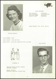 Page 15, 1958 Edition, Lacrosse High School - Tiger Tracks Yearbook (Lacrosse, IN) online yearbook collection