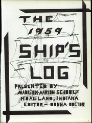Page 5, 1959 Edition, Hoagland High School - Ships Log Yearbook (Hoagland, IN) online yearbook collection