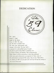 Page 6, 1959 Edition, Hoagland High School - Ships Log Yearbook (Hoagland, IN) online yearbook collection