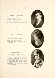 Page 17, 1924 Edition, Butler High School - Tropaeum Yearbook (Butler, IN) online yearbook collection