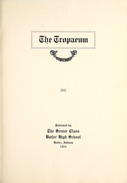 Page 9, 1924 Edition, Butler High School - Tropaeum Yearbook (Butler, IN) online yearbook collection