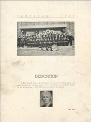 Page 3, 1937 Edition, Butler High School - Tropaeum Yearbook (Butler, IN) online yearbook collection