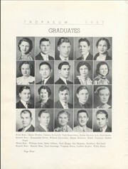 Page 6, 1937 Edition, Butler High School - Tropaeum Yearbook (Butler, IN) online yearbook collection