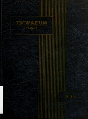Butler High School - Tropaeum Yearbook (Butler, IN) online yearbook collection, 1939 Edition, Page 1