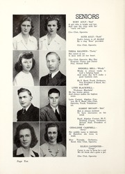 Page 14, 1943 Edition, Butler High School - Tropaeum Yearbook (Butler, IN) online yearbook collection
