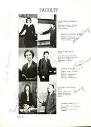 Page 10, 1944 Edition, Butler High School - Tropaeum Yearbook (Butler, IN) online yearbook collection