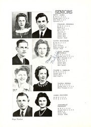 Page 16, 1944 Edition, Butler High School - Tropaeum Yearbook (Butler, IN) online yearbook collection