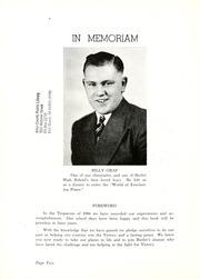 Page 6, 1944 Edition, Butler High School - Tropaeum Yearbook (Butler, IN) online yearbook collection